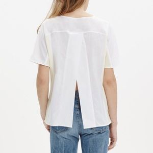 Madewell Open Back Cotton Top Size S